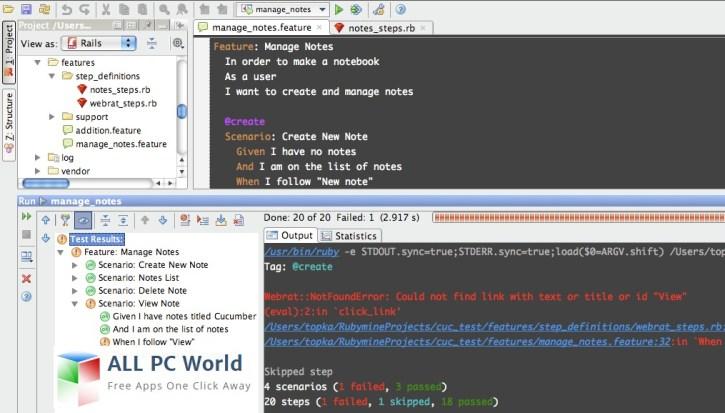 Revisión de JetBrains RubyMine