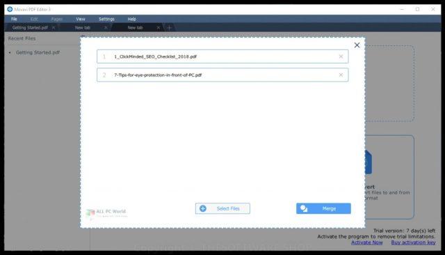 Movavi PDF Editor 2020 v3.2 Descarga gratuita