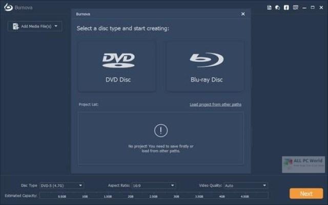 Aiseesoft Burnova 1.3 Descarga gratis
