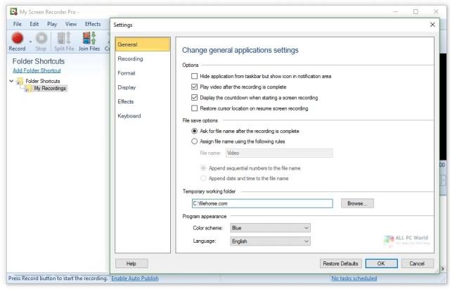 DeskShare My Screen Recorder Pro 2020 v5.21 Descarga gratuita
