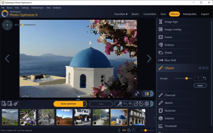 Ashampoo Photo Optimizer 8.0 Descarga con un clic
