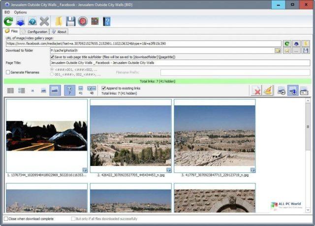 Descargador de imágenes a granel 5.75