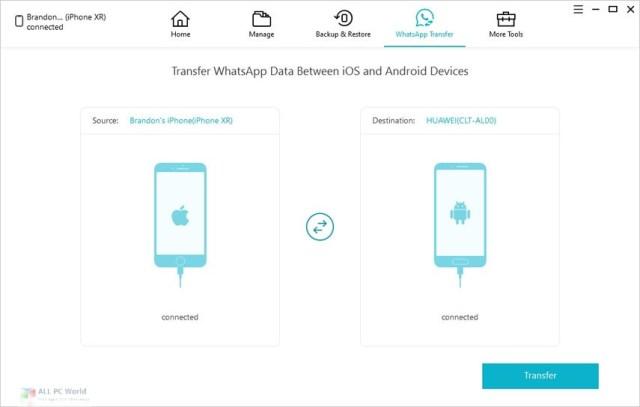 Tenorshare iCareFone para WhatsApp Transfer 3.0 Descarga gratuita