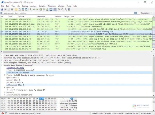Wireshark 2020 v3.4.1 Descargar