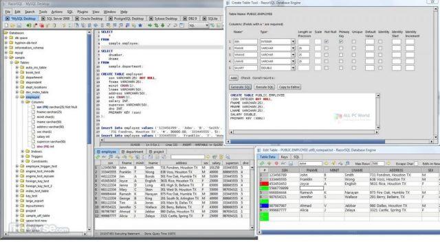 Descarga gratuita de RazorSQL 9.2.7