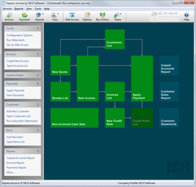 Software de facturación Express Invoice 8.10