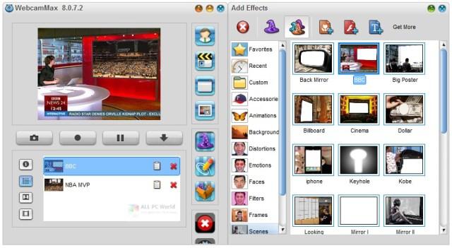 WebcamMax 8.0 para Windows