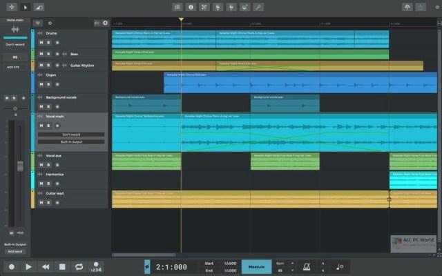 Descarga gratuita de n-Track Studio Suite 9.1