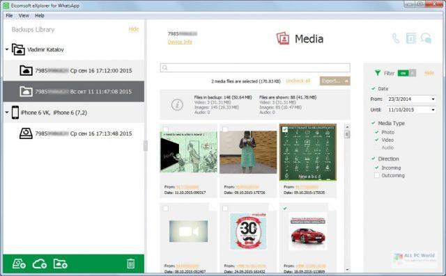 Descarga gratuita de Elcomsoft Explorer para WhatsApp Forensic Edition 2.76