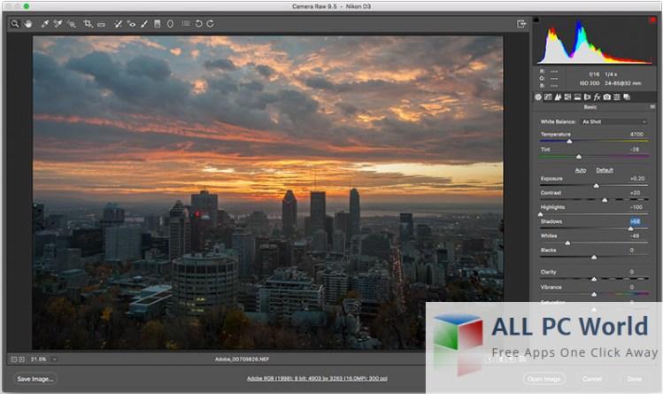 Revisión y características de Adobe Camera Raw 9.7