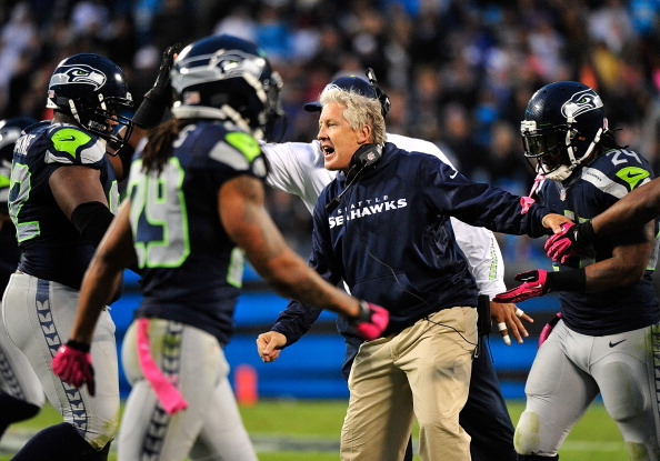 pete carroll Seattle Seahawks Pull Out Win At Carolina Thanks To Dominant Defense