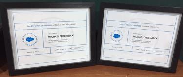 Michael Drzewiecki 18x Salesforce Certified Salesforce