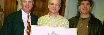 Lambda-Lambda Alumni Association Receives Charter