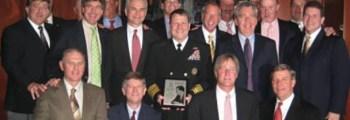 Navy Vice Admiral Bill Gortney #50 Receives Kappa Sigma Fraternity's 'John G. Tower Distinguished Alumnus Award'.