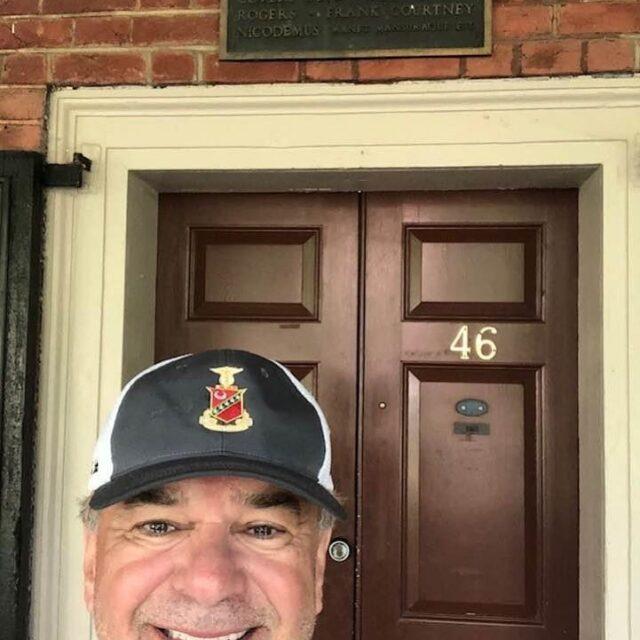 Gary Evans at 46 East Lawn #kappasigmaelon