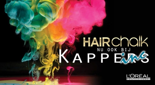 hairchalk bij Kappers Inc