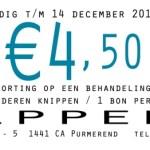 korting bij Kappers Inc