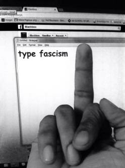"""""""Done with Type Facism."""" - Bharat Agarwal"""