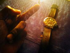 """""""Done worrying about the time."""" - Prateek Shankar"""