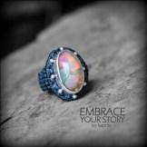 bague opale argent 925 macrame oapl silver ring kaprisc creation 2014 (7)