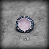 bague quartz rose argent 925 macrame silver ring kaprisc creation 2014 (1)