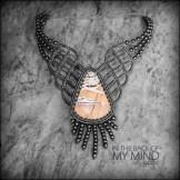 collier jaspe rhyolite dendritique macrame jasper dendritique neckace kaprisc jewelry 2014 (1)