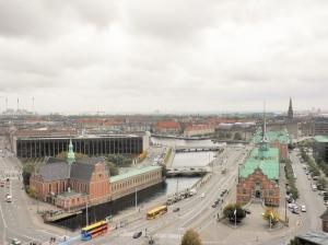 Copenhagen from the tower.