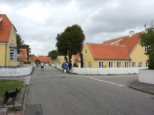 Yellow houses in Skagen
