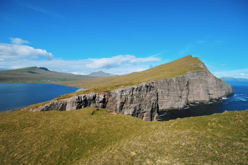 Sorvagsvatn Lake - island of Vagar, Faroe Island