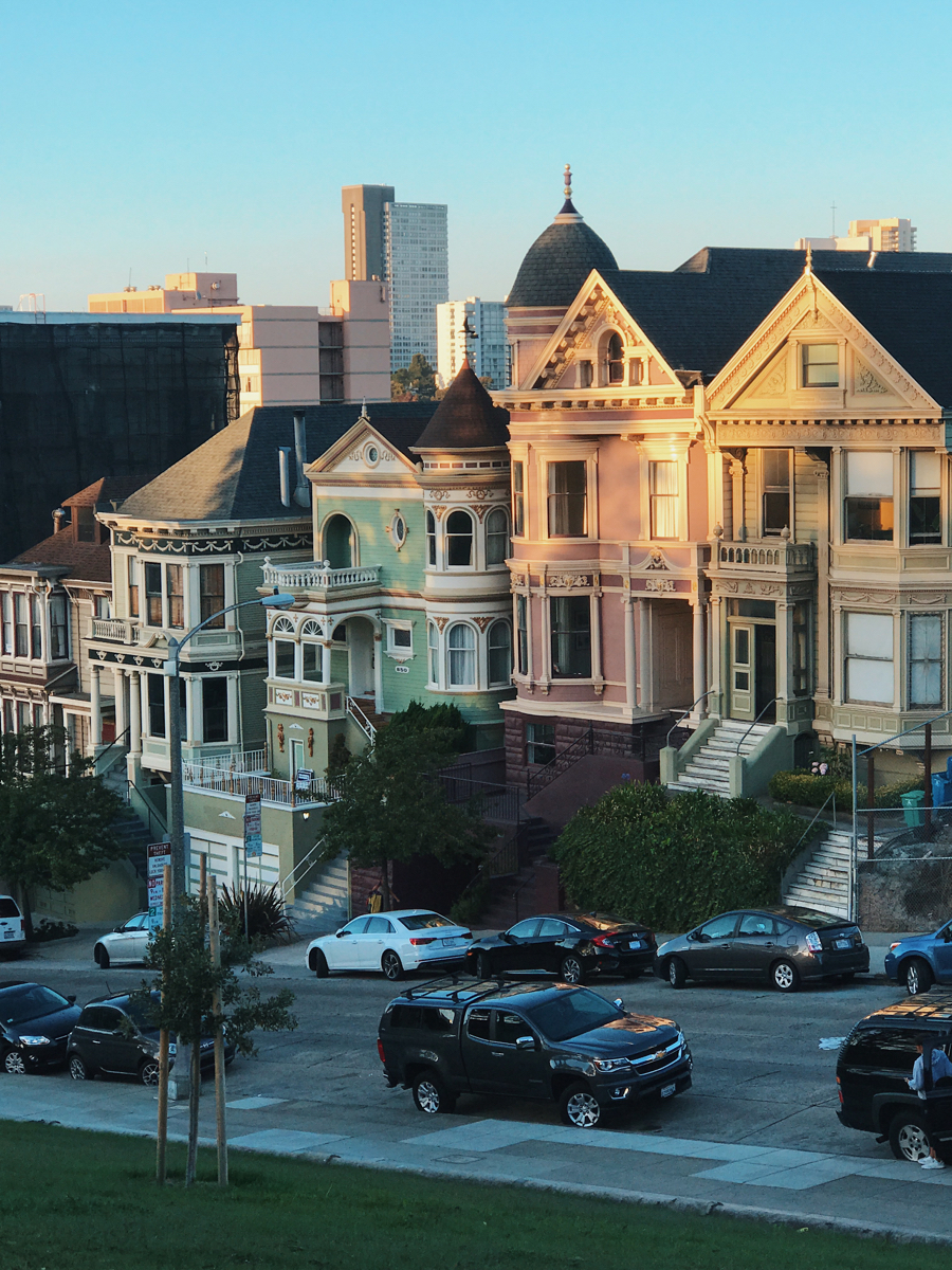 San Francisco - near the Painted Ladies