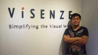 Guangda Li, the Co-Founder and CTO at ViSenze,