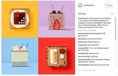 Instagram Shakes