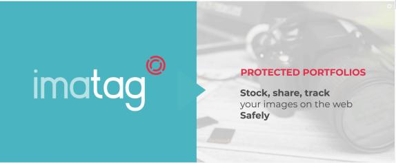 Imatag's home page