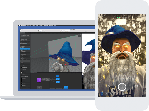 The Facebook AR studio