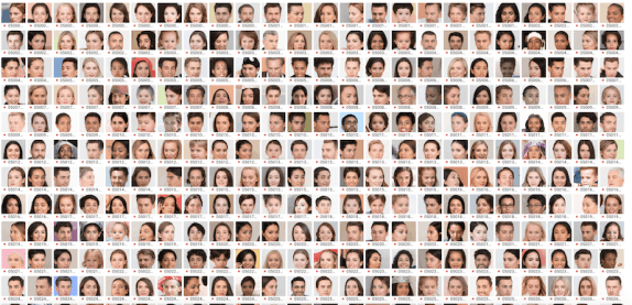 Generated.photos, 100,000 faces of people that have never existed.