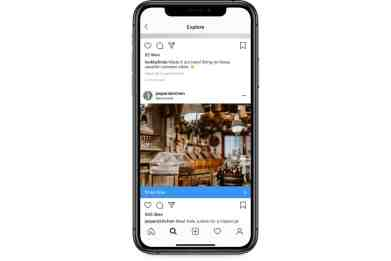 A familiar view: commerce on Instagram
