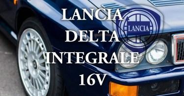 中古で購入したランチア デルタ インテグラーレ 16V