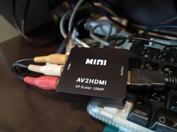PS2 HDMI 接続