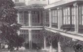 Uno de los patios del Palacio de Eugenia de Montijo