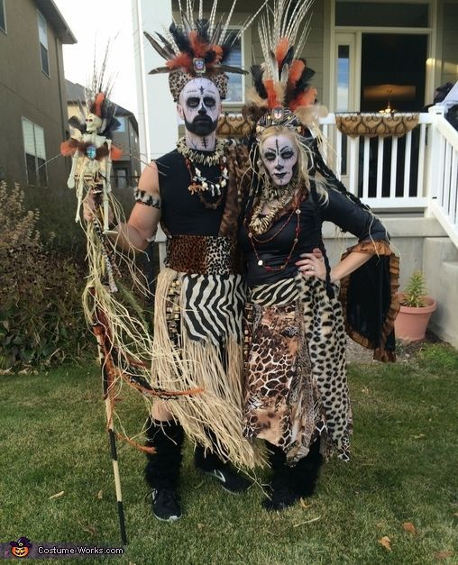 Telas africanas Wax  para Halloween