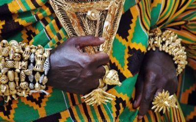 La tela africana wax Kente