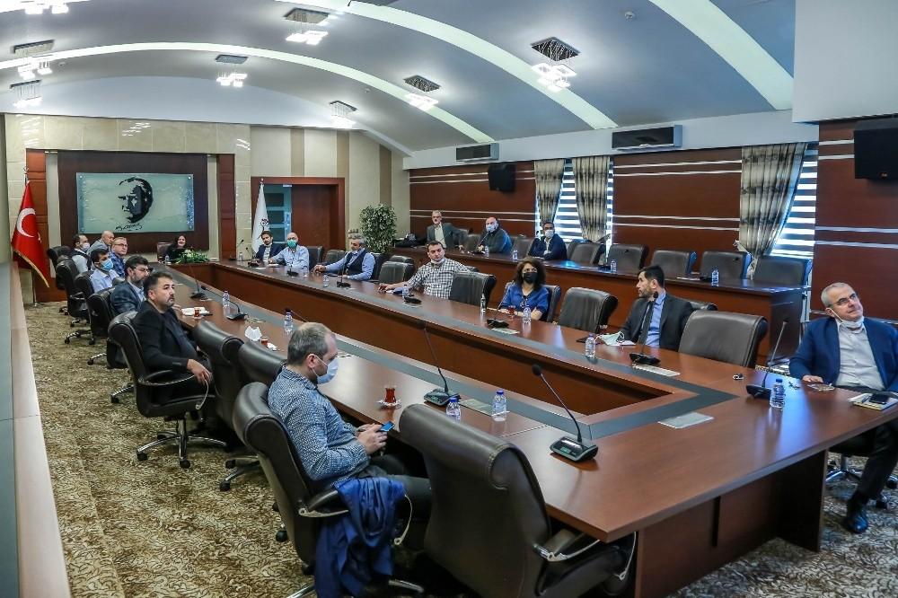 'Piroliz Tesisi Projesi'nin tanıtım toplantısı KBÜ'de yapıldı