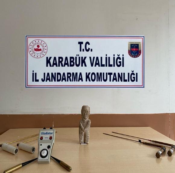 Karabük'te tarihi eser kaçakçılığı: 1 gözaltı