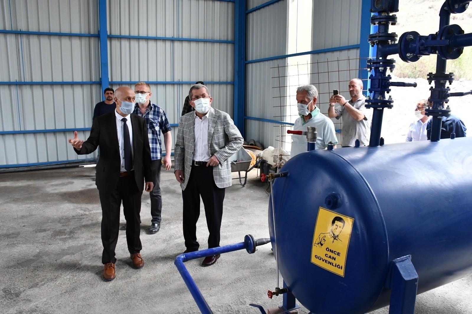Karabük'te yılda 150 ton katı atık bertaraf edilip yakıt elde edilecek