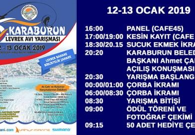 12 Ocak Cumartesi Levrek Yarışması