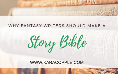 Story Bibles: Why Fantasy Writers Should Make One Right Now