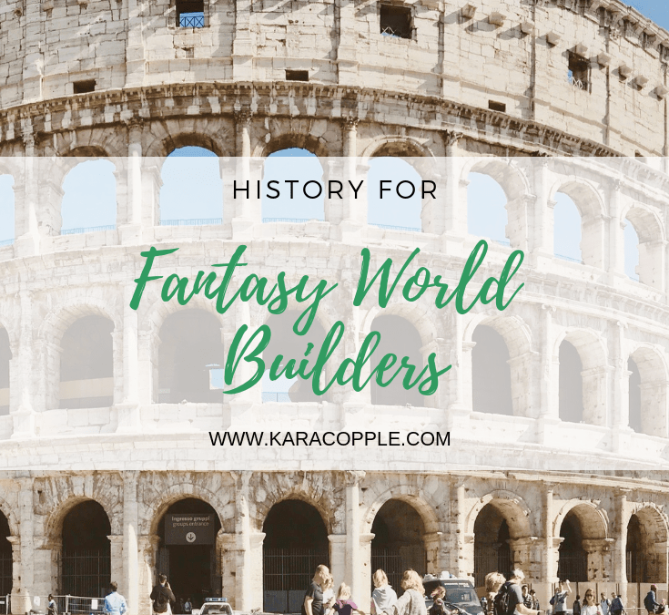history for fantasy worldbuilders