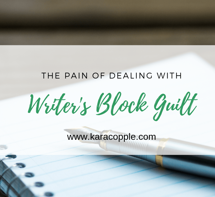 The Pain of Dealing with Writer's Block Guilt