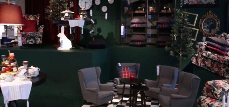 IKEA Karácsony 2018: Alíz Csodaországban