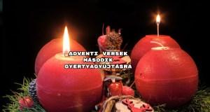 Adventi versek második gyertyagyújtásra